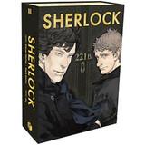 Sherlock (Boxset 3 Tập Manga) - Steven Moffat